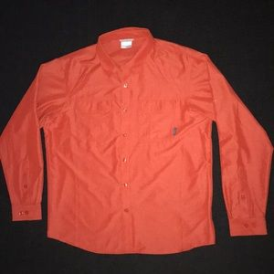 Fast dry Columbia button up shirt